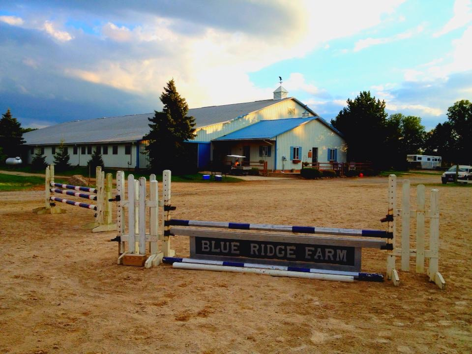 Barn View From Jump Course