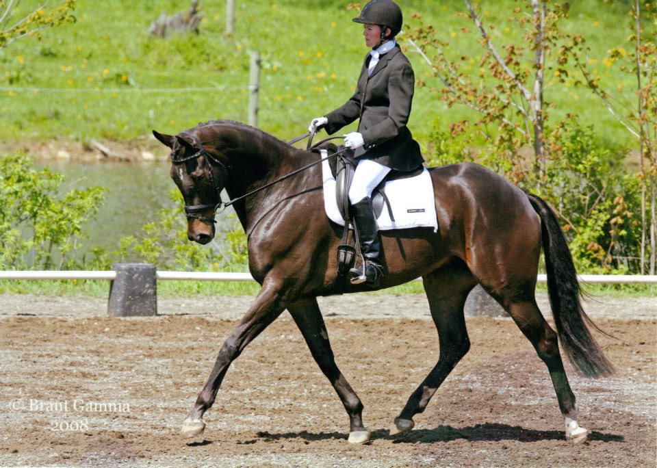 JUlie Dressage 2