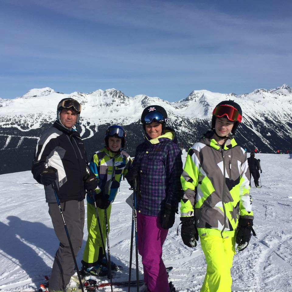 Taylor Family Whistler 2016